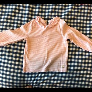 Le Petit Bateau Ruffle Long Sleeve 👚-Like New